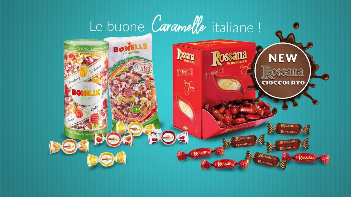 Slide Promozionale - Caramelle Bonelle e Rossana